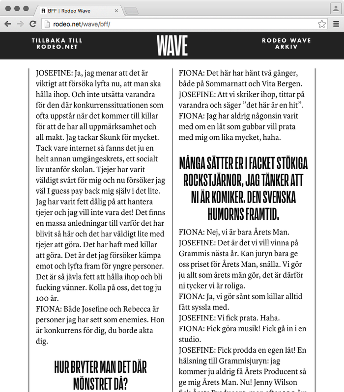 Rodeo Wave, Feb & March 2016 4