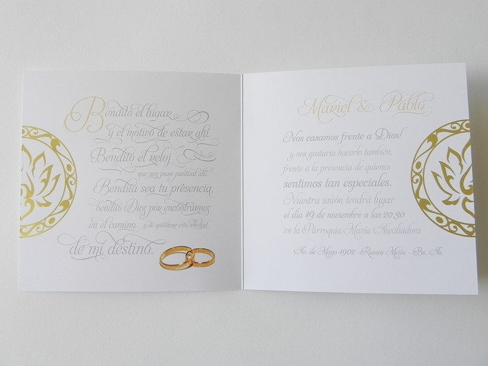 Mariel & Pablo wedding invitations 5