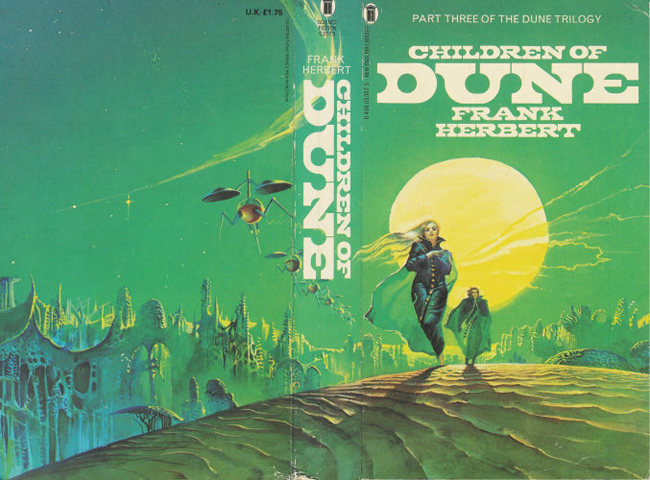 Dune book series, New English Library 4