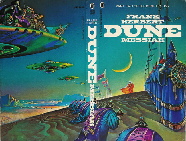 Dune book series, New English Library 3