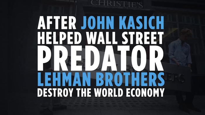 Donald Trump ad: John Kasich All Talk No Action Politician 1