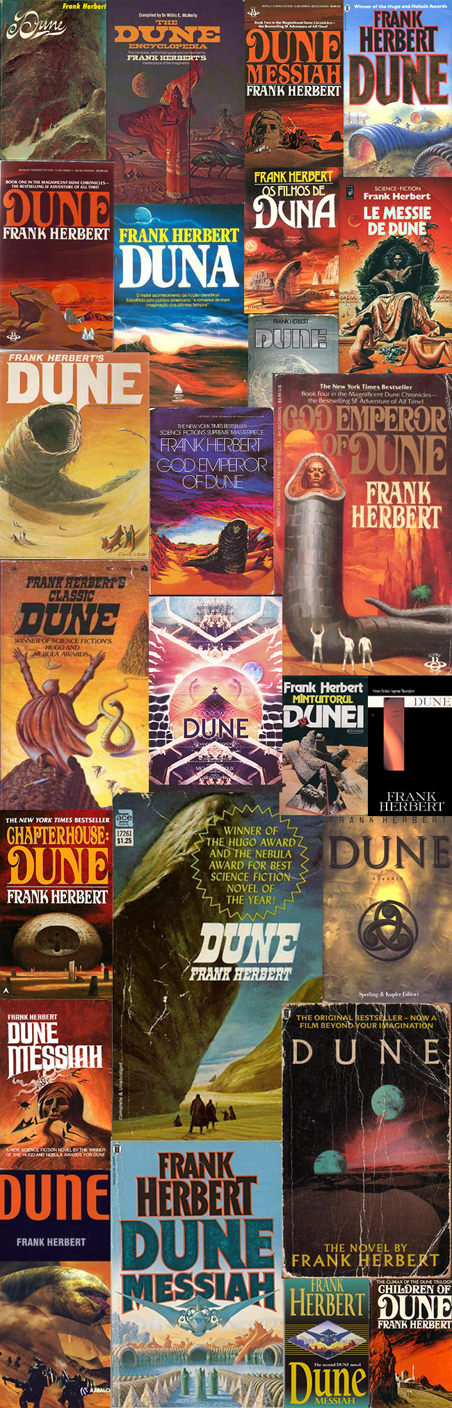 Dune book series, New English Library 6