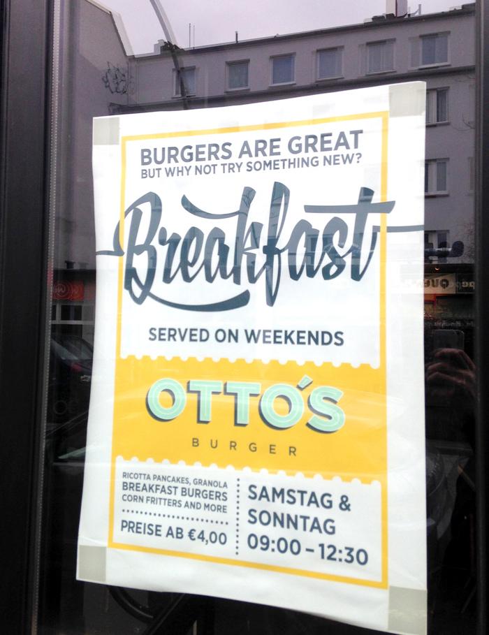 Otto's Burger 1