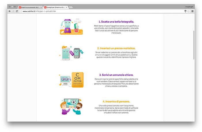 Subito website 3