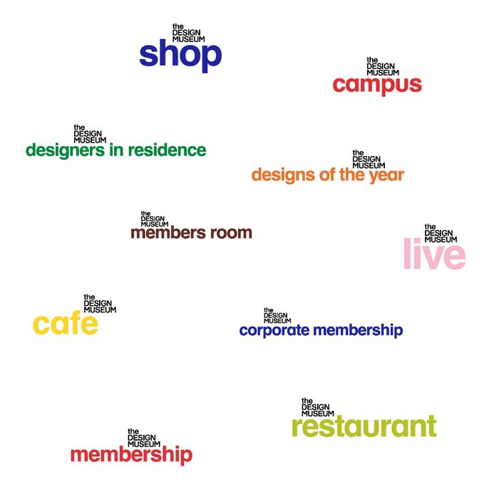 Design Museum identity (2003, 2016) 3