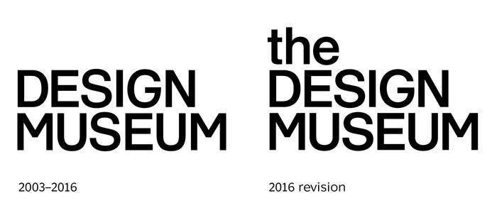 Design Museum identity (2003, 2016) 4