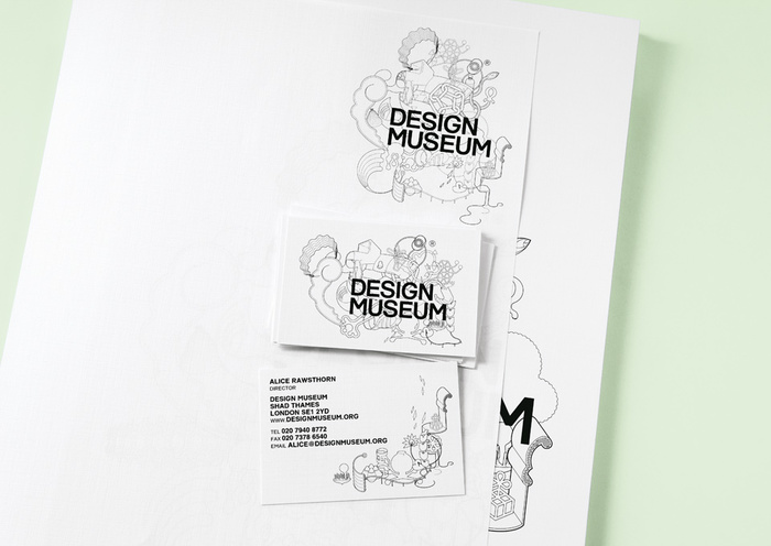 Design Museum identity adopted in 2003.