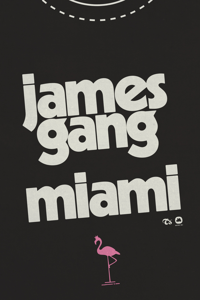 James Gang Miami t-shirt