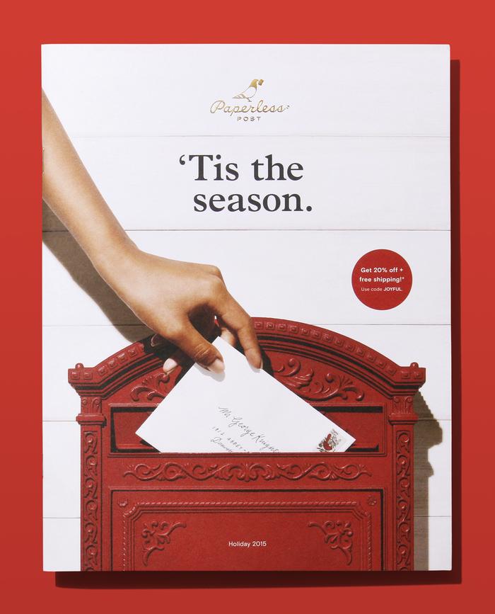 Paperless Post 2015 Holiday Catalog 1