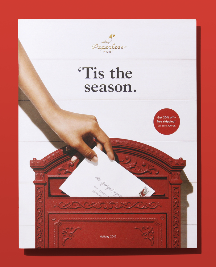 Paperless Post 2015 Holiday Catalog 1
