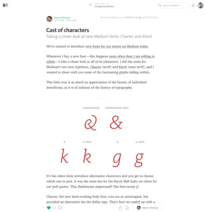 Medium.com (2015) 2