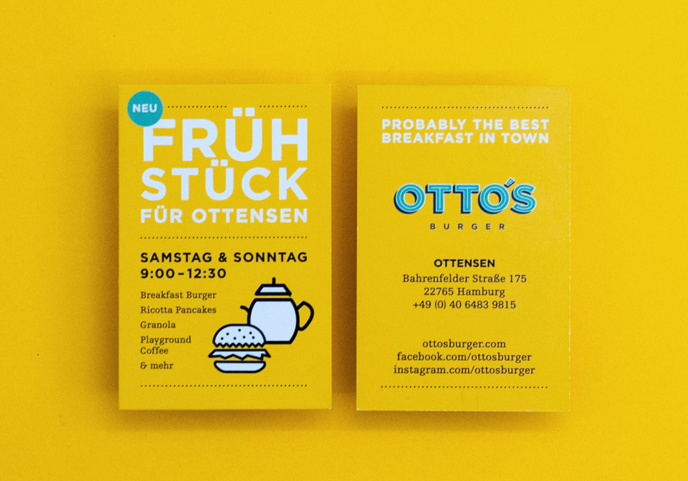 Otto S Burger Fonts In Use