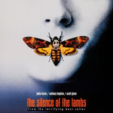 <cite>The Silence Of The Lambs</cite> movie poster