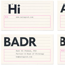 N/A identity and website