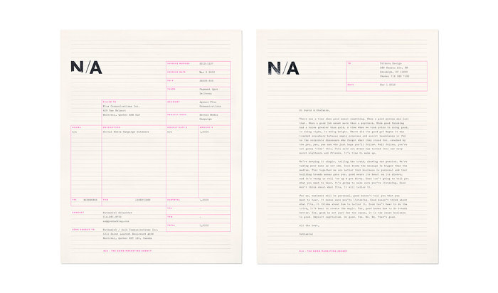 N/A identity and website 2