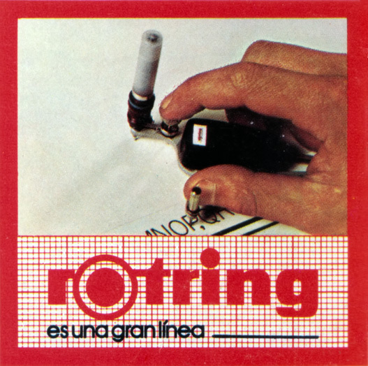 """Es una gran línea"" (""It's a great line""). Geomundo magazine, 1977 (detail)."
