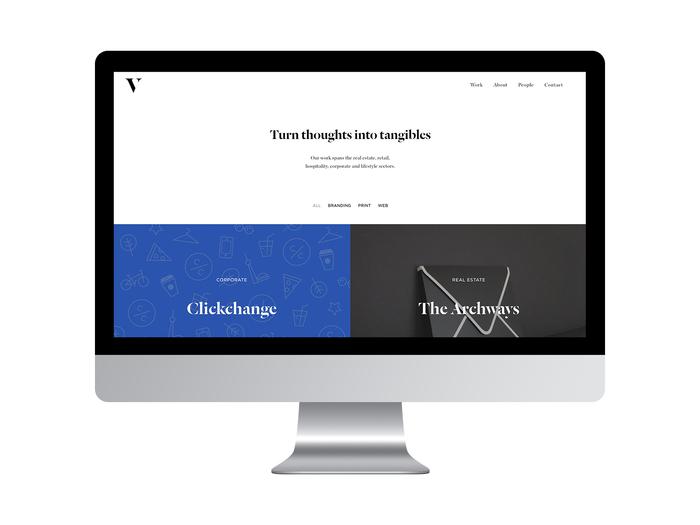 Vander Brand website 1