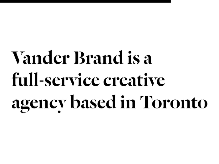 Vander Brand website 4