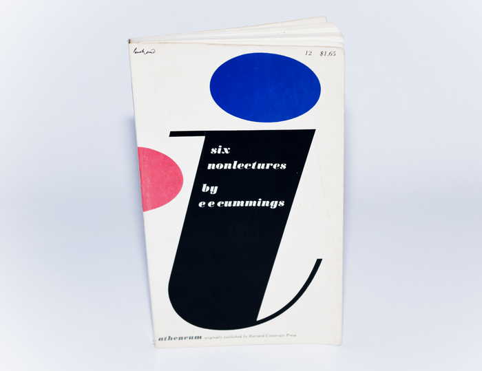 Book cover for i: six non lectures by e e cummings 3