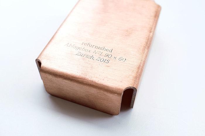 Copper storage boxes 1
