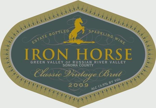 Iron Horse wine label 1