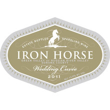 Iron Horse wine label