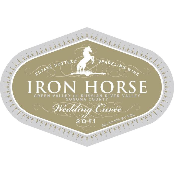 Iron Horse wine label 2