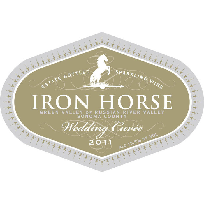 Iron Horse wine label 2