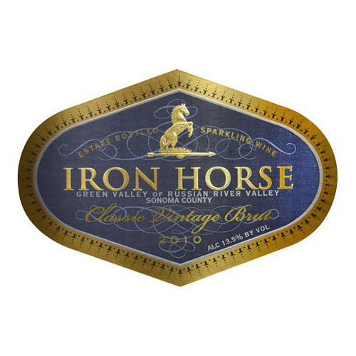 Iron Horse wine label 3
