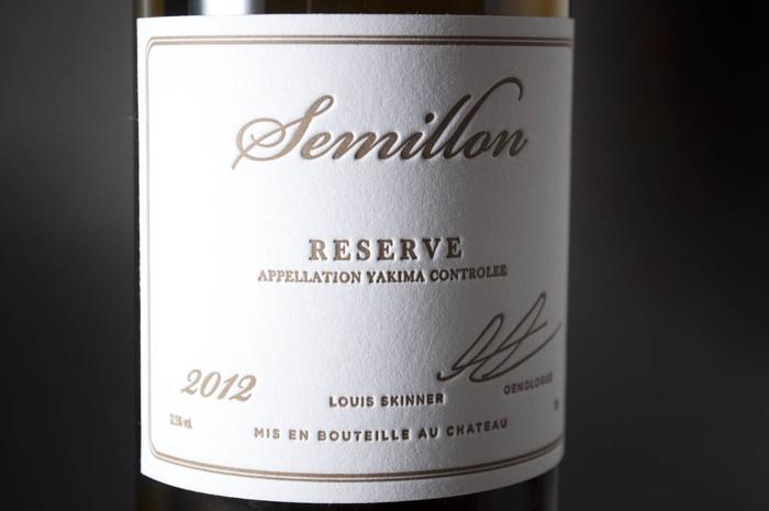 2012 Louis Skinner Semillon Reserve 1