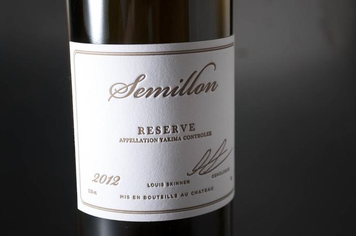 2012 Louis Skinner Semillon Reserve 2