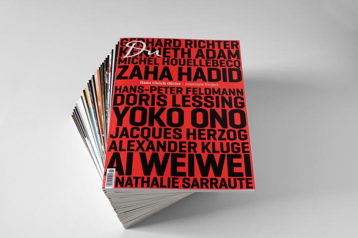 Du magazine (2012–) 1