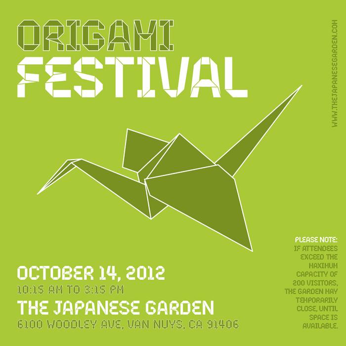 Origami festival poster 1