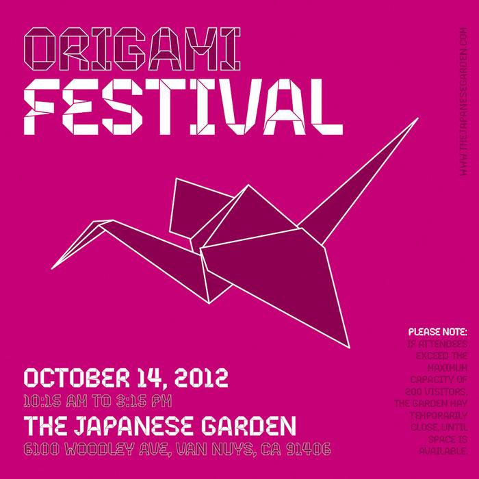 Origami festival poster 2