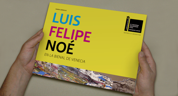 Luis Felipe Noé en la Bienal de Venecia 1