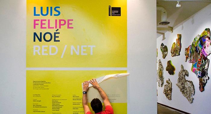 Luis Felipe Noé en la Bienal de Venecia 4
