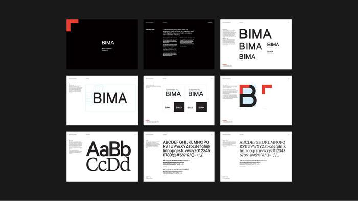 BIMA brand identity 7