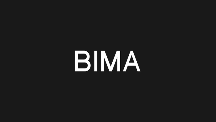 BIMA brand identity 2