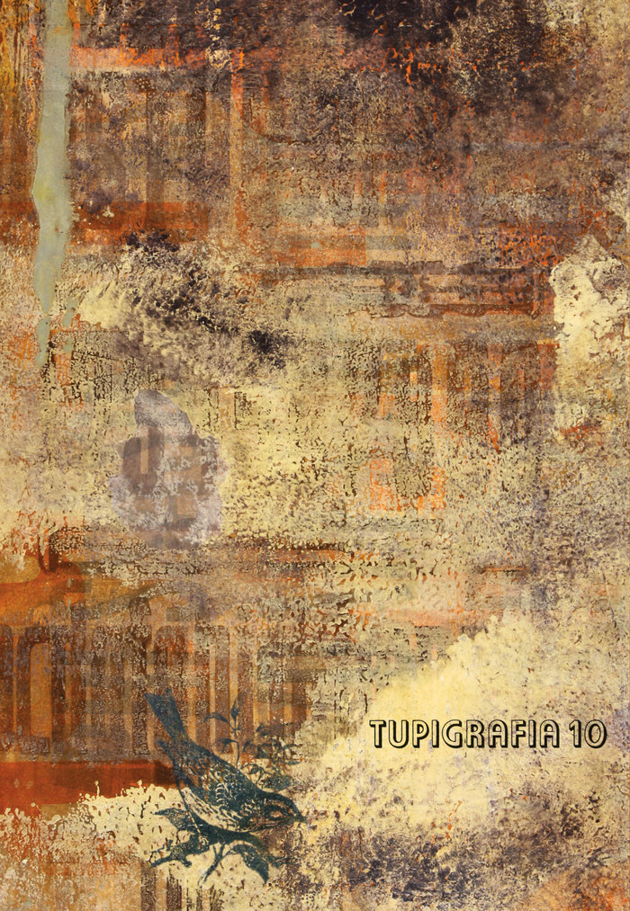 Tupigrafia magazine cover, issue 10
