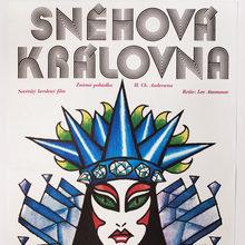 <cite>Snehová královna</cite> movie poster