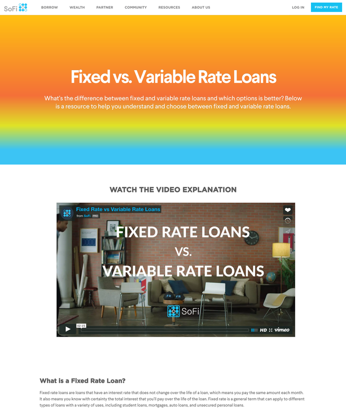 SoFi Lending 3