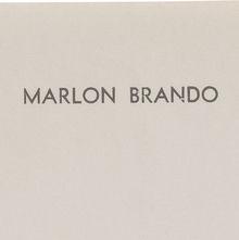 Marlon Brando letterhead