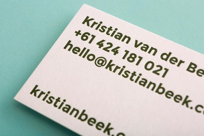 Kristian van der Beek 2