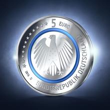 German 5-euro coin, 2016