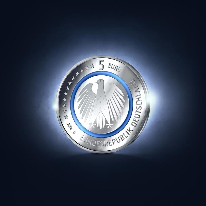 German 5-euro coin, 2016 2