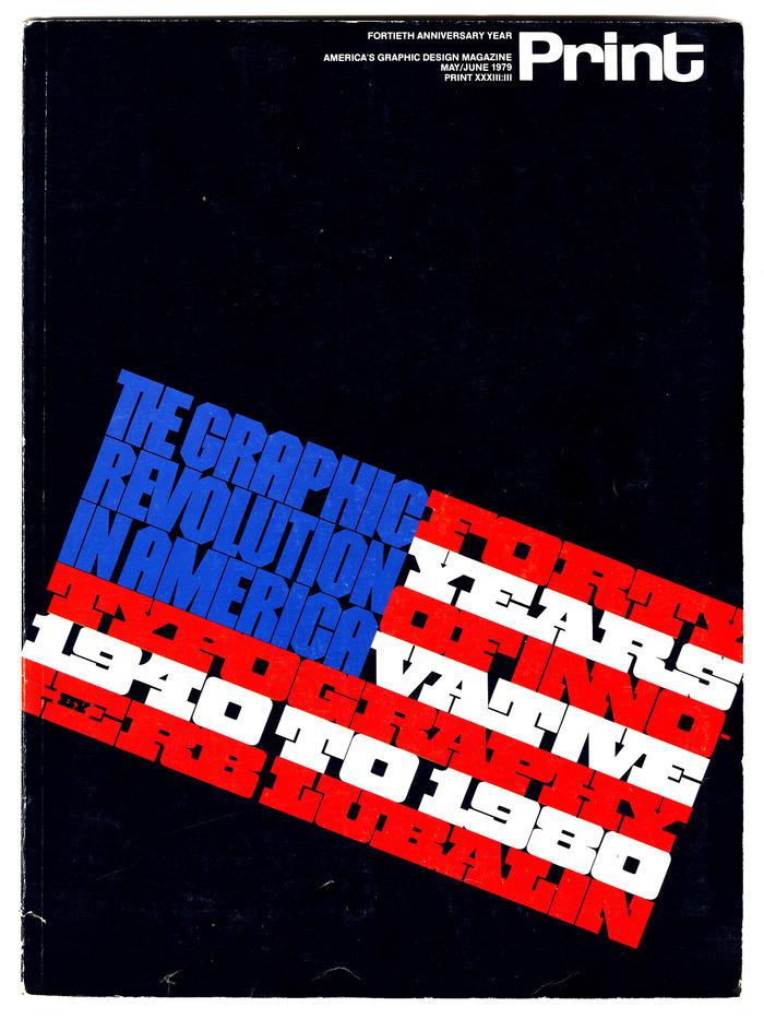 Print cover, May/June 1979 1