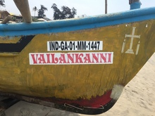 """Vailankanni"" boat, Goa"