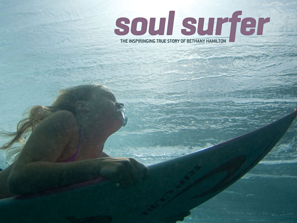 Soul Surfer Movie Poster Fonts In Use