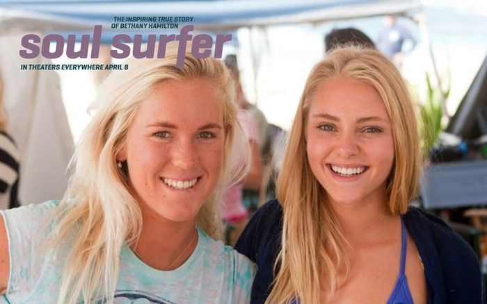Soul surfer movie poster 6