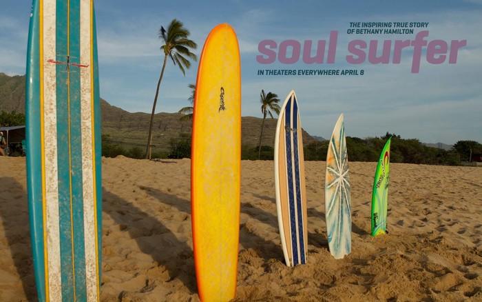 Soul surfer movie poster 7